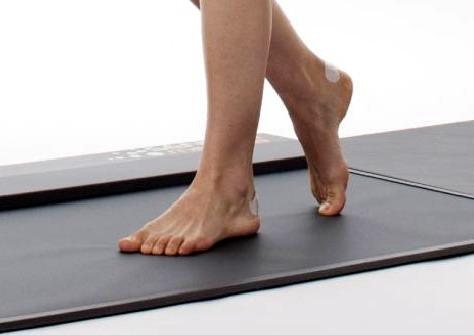 esame baropodometrico piece andatura camminata appoggio a terra